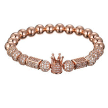 Afbeelding in Gallery-weergave laden, Imperial Light-Gouden armband dames-Gouden armband-Rose Gold-TrendBody