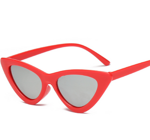 Cat Frame-Cat eye zonnebril dames-Cat eye zonnebril-Flame Silver-TrendBody