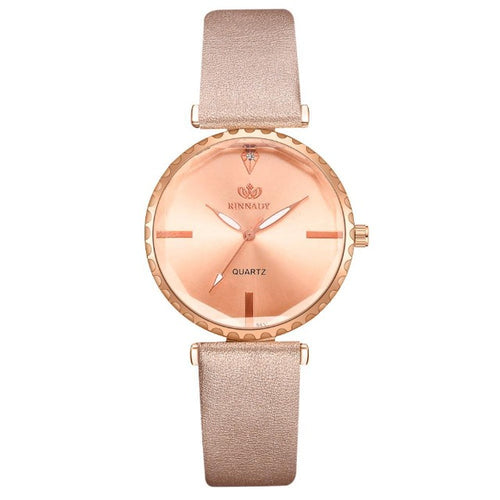 Analog Band-Analoog horloge dames-Royal Gold-TrendBody