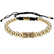 Afbeelding in Gallery-weergave laden, Egypt Bead-Gouden armband dames-Royal Gold-TrendBody