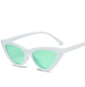 Cat Frame-Cat eye zonnebril dames-Cat eye zonnebril-Snow Green-TrendBody