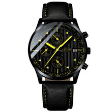 Afbeelding in Gallery-weergave laden, Minor Sweep-Chronograaf horloge heren-Space Yellow-TrendBody
