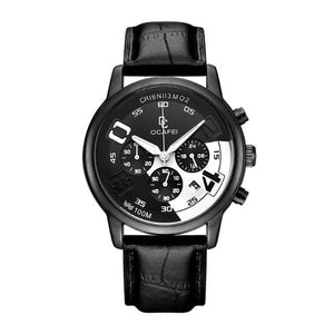 Luminous Watch-Chronograaf horloge heren-Space Black-TrendBody