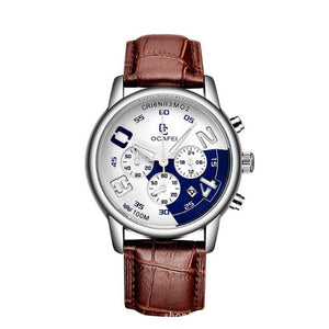 Luminous Watch-Chronograaf horloge heren-Desert Blue-TrendBody