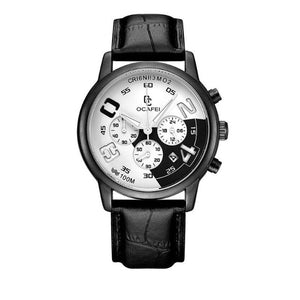 Luminous Watch-Chronograaf horloge heren-Moonshine Black-TrendBody