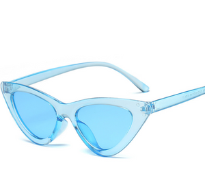 Cat Frame-Cat eye zonnebril dames-Cat eye zonnebril-Sky Blue-TrendBody