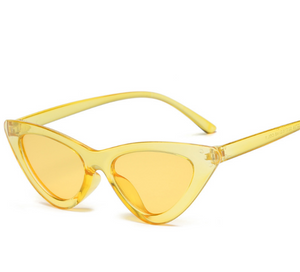 Cat Frame-Cat eye zonnebril dames-Cat eye zonnebril-Sunny Yellow-TrendBody