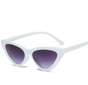 Cat Frame-Cat eye zonnebril dames-Cat eye zonnebril-Snow Purple-TrendBody