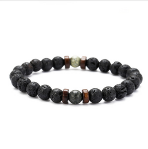 Buddha Moonstone-Kralen armband heren-Space Jungle-TrendBody
