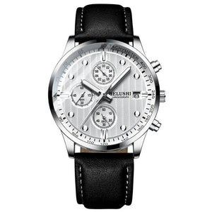 Minor Sweep-Chronograaf horloge heren-Space White-TrendBody