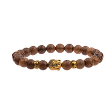 Afbeelding in Gallery-weergave laden, Wood grain bead bracelet-Heren Armband-9style-TrendBody