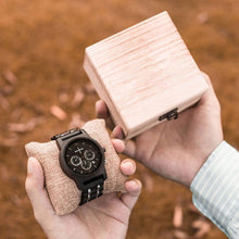 Load image into Gallery viewer, Multi Wood-Houten Horloge Heren-Houten Horloge Heren-TrendBody