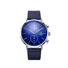 Afbeelding in Gallery-weergave laden, Native Waist-Chronograaf horloge heren-Minimalistisch horloge heren-Space Blue-TrendBody