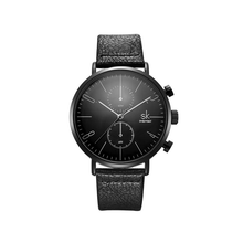Afbeelding in Gallery-weergave laden, Native Waist-Chronograaf horloge heren-Minimalistisch horloge heren-Space Black-TrendBody