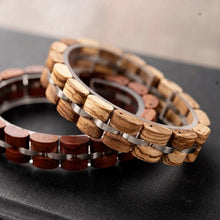 Load image into Gallery viewer, Wooden Pulse-Houten Armband Heren-Houten armband-TrendBody