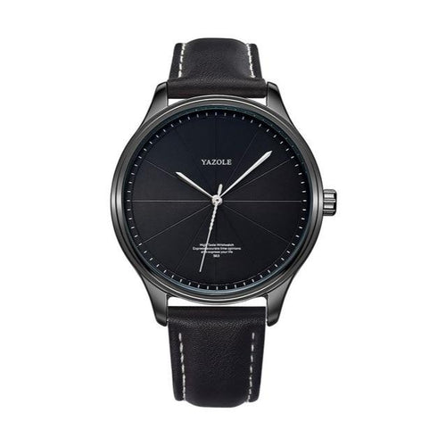 The Monument-Analoog horloge heren-Space Black-TrendBody