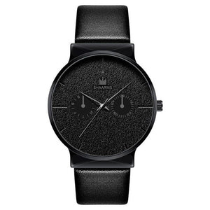 Dark Rust-Chronograaf horloge heren-Space Black-TrendBody