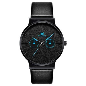 Dark Rust-Chronograaf horloge heren-Space Blue-TrendBody