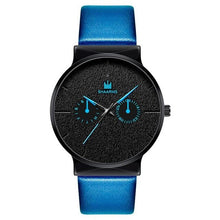 Afbeelding in Gallery-weergave laden, Dark Rust-Chronograaf horloge heren-Navy Black-TrendBody