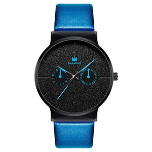 Dark Rust-Chronograaf horloge heren-Navy Black-TrendBody