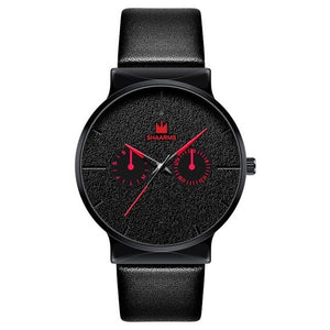 Dark Rust-Chronograaf horloge heren-Space Red-TrendBody