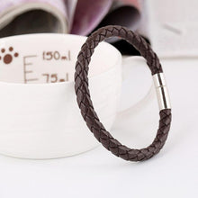 Load image into Gallery viewer, Timeless Design-Leren armband heren-Leren armband-TrendBody