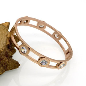 Full Charriot-Slavenarmband dames-Slaven armband-Rose Gold-TrendBody