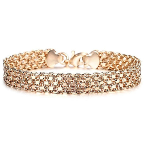 Royal Bangle-Slavenarmband dames-Slaven armband-12mm Goud-TrendBody
