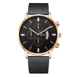 Mister Elegance-Chronograaf horloge heren-Space Rose Gold-TrendBody