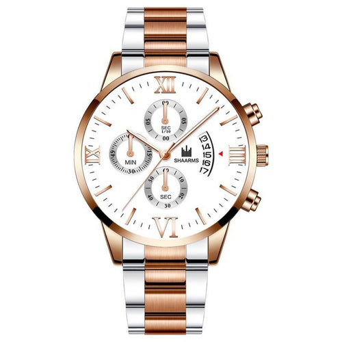 Near The Clock-Chronograaf horloge dames-Snow Rose Gold-TrendBody