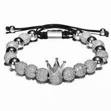 Afbeelding in Gallery-weergave laden, Micro King-Gouden armband dames-Platinum Silver-TrendBody