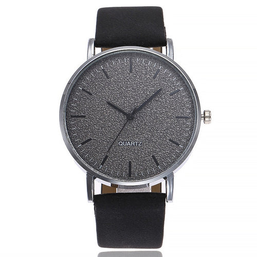 Top Gravel-Analoog horloge heren-Space Black-TrendBody