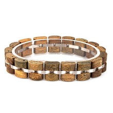 Afbeelding in Gallery-weergave laden, Wooden Pulsa-Houten Armband Dames-Houten armband-Jungle Green-TrendBody