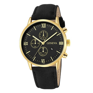 Delighted Richness-Chronograaf horloge heren-Minimalistisch horloge heren-Space Royal Gold-TrendBody