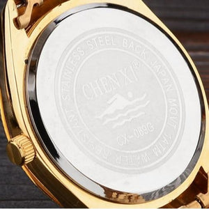 Gold Clock-Chronograaf horloge heren-Robuust horloge heren-TrendBody