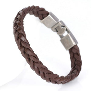 Arrow Sky-Leren armband heren-Desert Brown-TrendBody