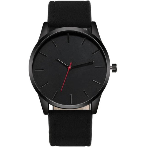 Clock Hero-Analoog horloge heren-Space Black-TrendBody
