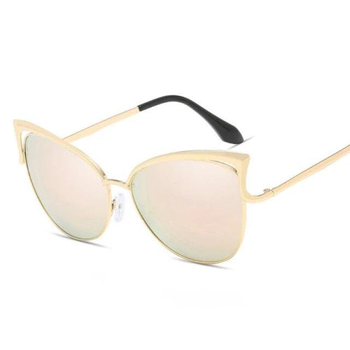 Formal Sun-Cat eye zonnebril dames-Cat eye zonnebril-Royal Pink-TrendBody