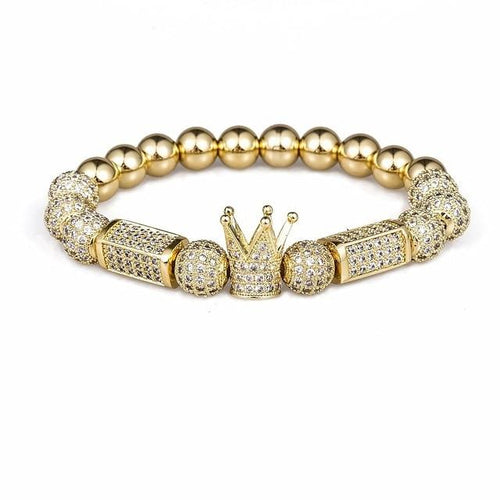 Imperial Light-Gouden armband dames-Royal Gold-TrendBody