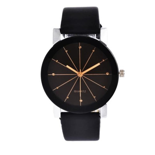 The Beauty-Analoog horloge dames-Space Black-TrendBody