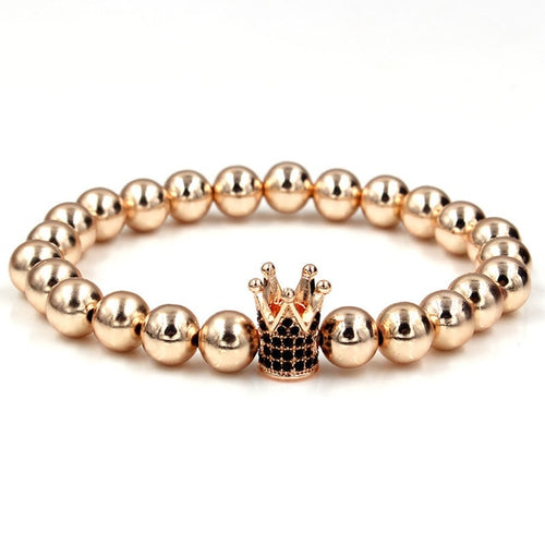 Shine Through-Gouden armband dames-Rose Gold-Large 19-20cm-TrendBody