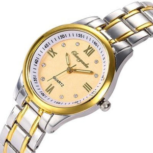 The Elite-Analoog horloge dames-Royal Gold-TrendBody
