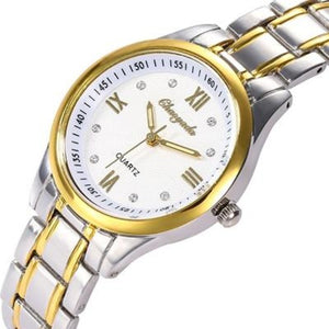 The Elite-Analoog horloge dames-Royal White-TrendBody