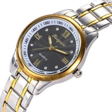 Afbeelding in Gallery-weergave laden, The Elite-Analoog horloge dames-Royal Black-TrendBody