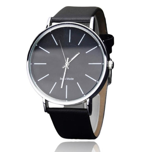 Godly Pearl-Analoog horloge heren-Space Black-TrendBody