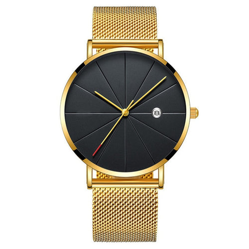 Top Way-Analoog horloge heren-Royal Gold-TrendBody
