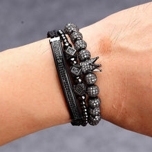 Load image into Gallery viewer, Luxury Saffire-Leren armband dames-Leren armband-TrendBody