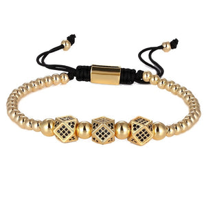 Luxury Block-Gouden armband dames-Gouden armband-Royal Gold-TrendBody