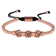 Load image into Gallery viewer, Luxury Block-Gouden armband dames-Gouden armband-Rose Gold-TrendBody