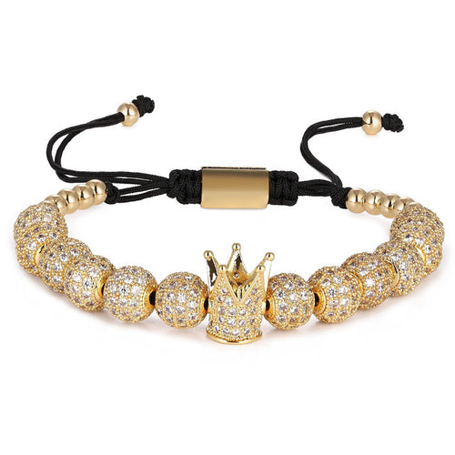 Luxury Crown-Gouden armband dames-Gouden armband-Royal Gold-TrendBody
